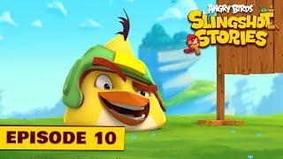 Angry Birds Slingshot Stories Ep. 10 | Target practice