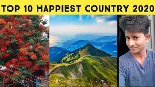 Top 10 Happiest Country in the world | 2020 | உலகின் மிக மகிழ்ச்சியான நாடு | Tamil | singaravelan s