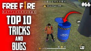 Top 10 New Tricks In Free Fire | New Bug/Glitches In Garena Free Fire #66