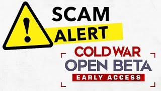 Don't Get SCAMMED by the Black Ops Cold War OPEN BETA...