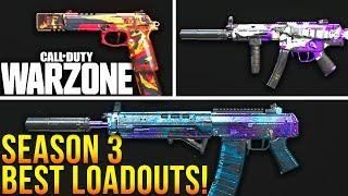 Call Of Duty WARZONE: TOP 10 Best Loadouts For Season 3 (Warzone Best Classes)
