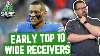 Fantasy Football 2020 - Early Top 10 WR Rankings + Disappearing Acts - Ep. #875