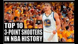 Top 10  3-Point Shooters in NBA History