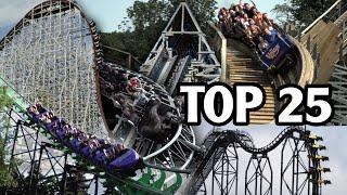 Top 25 Roller Coasters in the World (2020)
