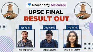 UPSC CSE 2019 Result Declared | Pradeep Singh Rank 1 | UPSC 2019 Toppers List | By Deepanshu Singh
