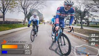 Why I Sprinted Early - 2020 Early Bird Criterium P/1/2