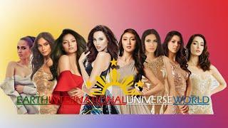 Top Country in Big Four International Beauty Pageants