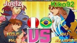 X-Men Vs. Street Fighter - Joelz vs Kiko92 FT10