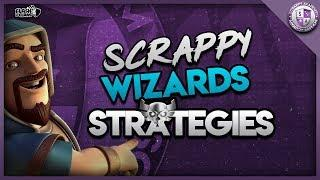 Best War Attacks From Scrappy Wizards [TH10 to TH13] | Clash Of Clans