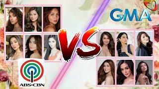 2020 Top 10 Most Beautiful Women in Showbiz of 2 Different Networks | ABS CBN vs GMA
