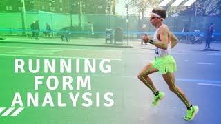 Running Form Analysis for Faster and more Efficient Running