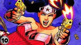 Top 10 Super Powers You Didn't Know Wonder Woman Had