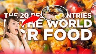 Amazing Street Food: Top 20 Best Street Foods Around The World !
