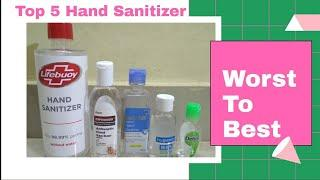 Top 5 Hand Sanitizer l Worst To Best Hand Sanitizer l Tiny Makeup Update