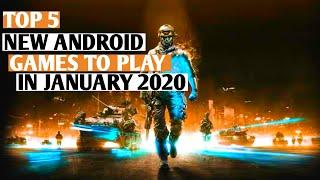TOP 5 NEW ANDROID GAMES YOU HAVE TO PLAY IN JANUARY 2020