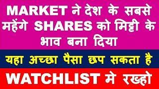गिरावट ने देश के सबसे महेंगे shares को सस्ता बना दिया   long term investment   multibagger stocks