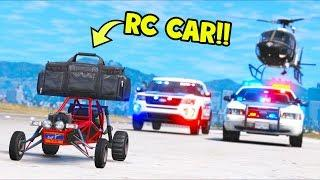 I robbed a BANK with this RC CAR!! (GTA 5 Mods Gameplay)