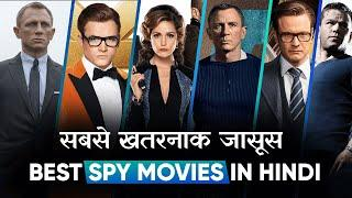 Top 10 Best Spy Movies Dubbed In Hindi All Time Hit | Best Detective Movies | Movies Bolt