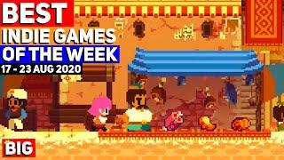 Top 10 BEST NEW Indie Games of the Week: 17 - 23 Aug 2020