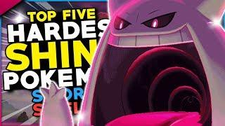 Top 5 HARDEST Shiny Pokemon To Hunt And Catch In Pokemon Sword And Shield