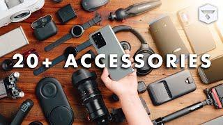 The 20+ BEST GALAXY S20 Accessories (that work for almost any phone & the Samsung Galaxy S20 Ultra)