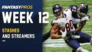 Top 10 Players to STASH & STREAM for Week 12 and Beyond (2020 Fantasy Football)