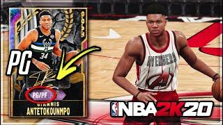 *POINT GUARD* GOAT GALAXY OPAL GIANNIS ANTETOKOUNMPO!! IS THIS THE BEST PG IN NBA 2K20 MyTEAM?