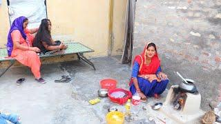 Chicken Curry Made by PUNJABI Village woman ♥️ Village Life of Punjab India ♥️ Rural life of Punjab
