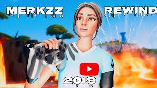 THE EVOLUTION OF MERKZZ!!! (The Best Console Fortnite Player) Happy New Year 2019 Rewind