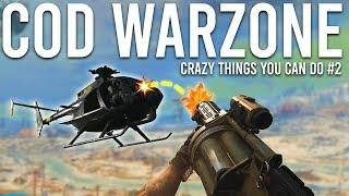 Crazy things you can do in Call of Duty Warzone #2