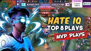 MVP PLAYS: HATE TOP 8 PLAYS OF THE WEEK