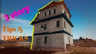 TRIPLE STORY | Top 10 tips & tricks for  rushing and defending in 3 Story | PUBG MOBILE