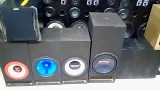 LAHORE PAKISTAN IMPORTED SOUND SYSTEM Ki BiG WHOL SALE MARKET | TOP SPEAKER COLLECTION