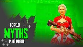 TOP 10 MYTHBUSTER IN PUBG MOBILE • PUBG MOBILE TIPS AND TRICKS • PUBG MOBILE •