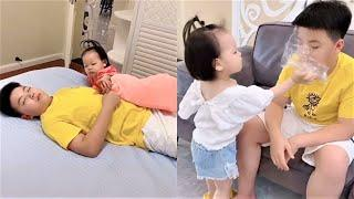 Watch top new comedy videos 2020! Family video2020! Lovely kids! Part 21
