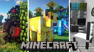 Top 10 Minecraft Mods Of The Week | Mooblooms, Goo, Pogfish, Spiders 2.0, Banner Additions and More!