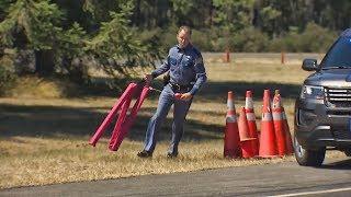 Criminals vs Spike Strips. Epic Police Chase