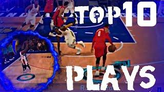 NBA 2k Mobile Top 10 INCREDIBLE  PLAYS of the Month #3- Posterizer, Clutch Plays and more!!!