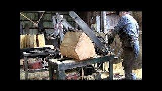 How to make wooden tiles? Incredible new production processes.