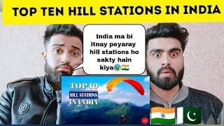 Pakistani reacting on top 10 hill stations in India by |pakistani bros reactions|