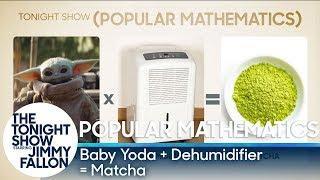 Popular Mathematics: Baby Yoda x Dehumidifier = Matcha