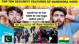 Top 10 Security Features Of PM Narendra Modi |नरेंद्र मोदी की प्रमुख सुरक्षा विशेषताएँ|Pak Reacts|