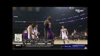 ESPN Crew REPORT LeBron James, Lilard headline the top 10 Plays of the 2019-20 NBA season - New