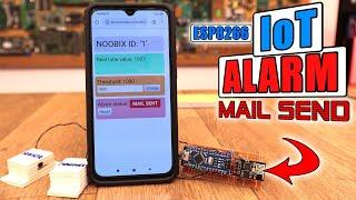IoT#1 - Door Open Alarm + E-Mail | ESP8266