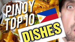 Top 10 Filipino Food Dishes | REACTION