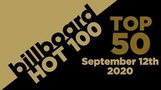Billboard Hot 100 - Top 50 Singles (September 12th, 2020)