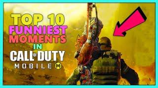 TOP 10 FUNNIEST MOMENTS IN COD MOBILE (Call of Duty: Mobile Funniest Moments & Fails) - LoL Videos