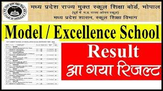 Excellence & Model School RESULT 2020 | MP Excellence School RESULT | Entrenc test 2020