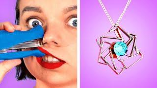 OH NO! BACK TO SCHOOL! 10 DIY School Supplies and School Crafts | Funny Situations By Crafty Panda
