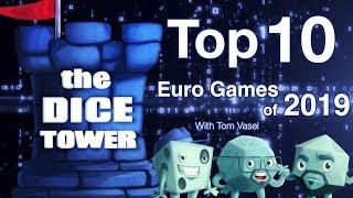 Top 10 Euro Games of 2019 - with Tom Vasel